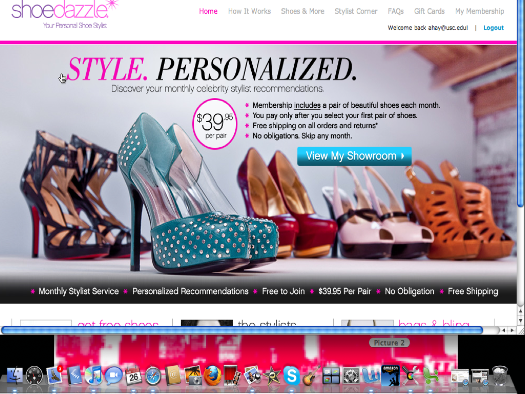 Shoe ADDICTS! Kim Kardashian launches ShoeDazzle!