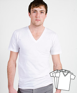 Mens Fashion Meets The White Tee