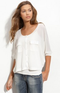 Frenchi, work-blouse, nordstroms