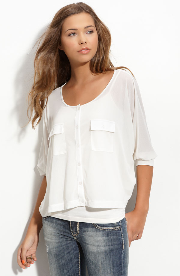 Nordstrom's Frenchi Work Tops