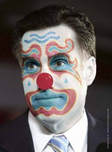 mitt-romney-clown, dan-cathy-clown
