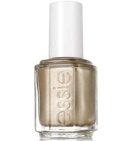 Fall Nails — Essie: Good As Gold