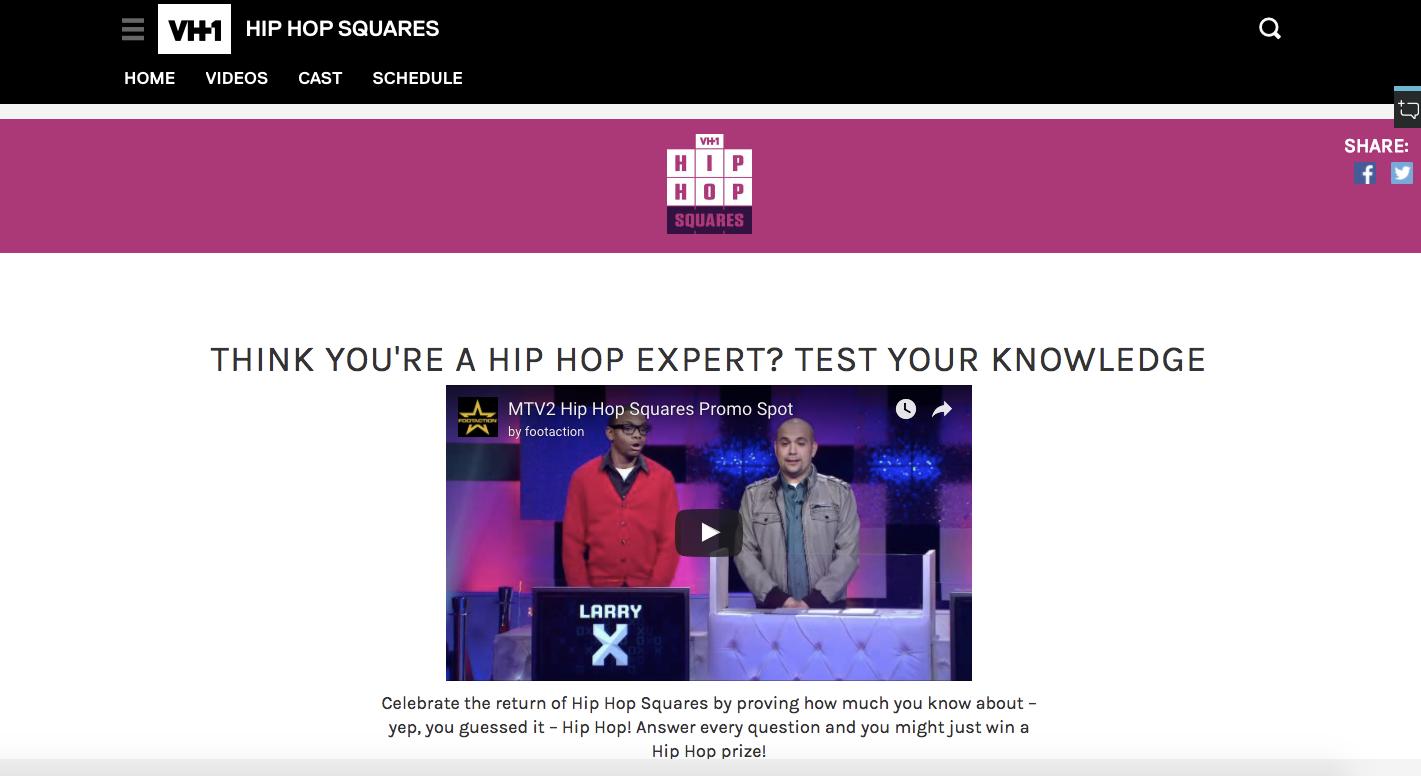 Hip hop squares campaign